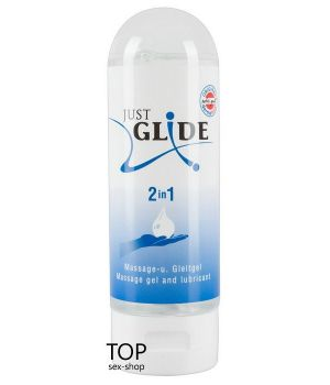 Гель-смазка Just Glide 2 in 1, 200ml