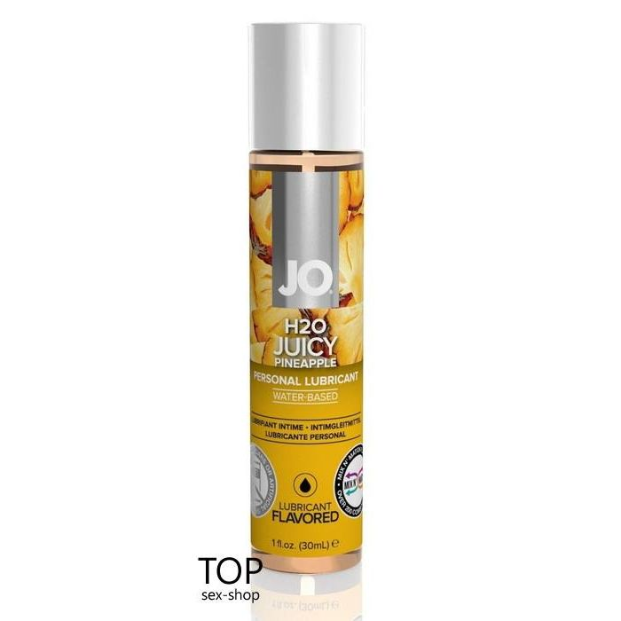 Лубрикант System JO H2O Juicy Pineapple, 30ml
