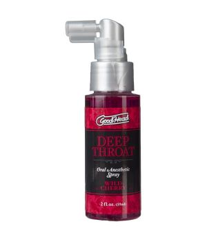 Спрей для минета Doc Johnson GoodHead Deep Throat Spray Wild Cherry, 59 мл
