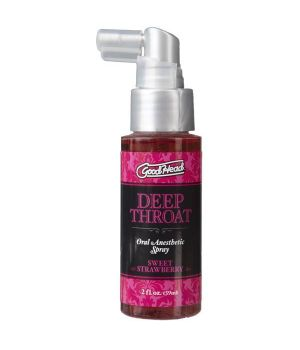 Спрей для минета Doc Johnson GoodHead Deep Throat Spray Sweet Strawberry, 59 мл