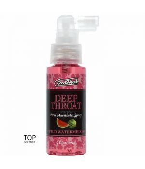 Спрей для глубокого минета Doc Johnson GoodHead DeepThroat Spray Watermelon 59 мл