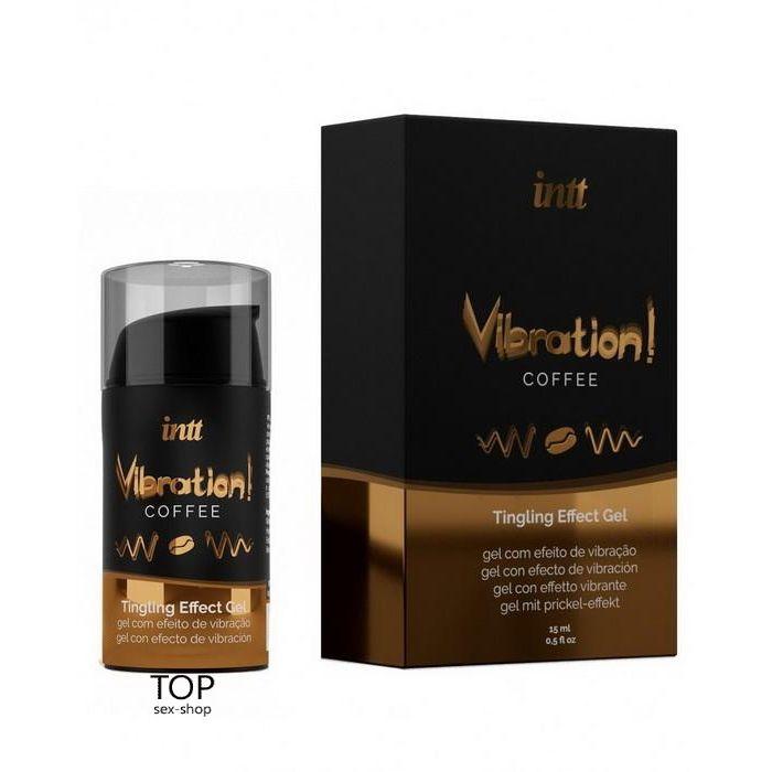 Жидкий вибратор Intt Vibration Coffee 15 мл
