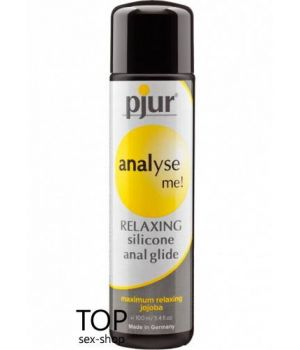 Смазка Pjur analyse me! Relaxing jojoba silicone glide 100 мл