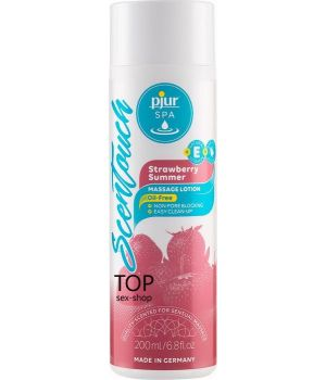 Массажный лосьон Pjur SPA Scentouch Strawberry, 200ml