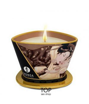 Массажная свеча Shunga Massage Candle Intoxicating Chocolate 170 мл