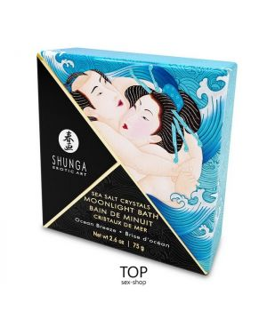 Соль для ванны Shunga Moonlight Bath Ocean Breeze 75 гр
