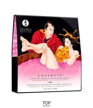 Гель для ванны Shunga Lovebath Dragon Fruit, 650 гр