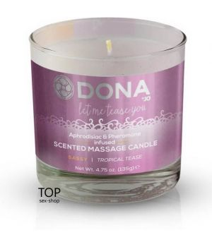 Массажная свеча DONA Scented Massage Candle Tropical Tease Sassy