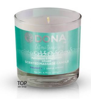 Массажная свеча DONA Scented Massage Candle Sinful Spring Naughty