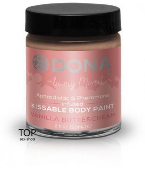 Краска для тела Dona Kissable Body Paint Vanilla Buttercream