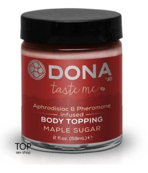 Карамель для тела DONA Body Topping Maple Sugar