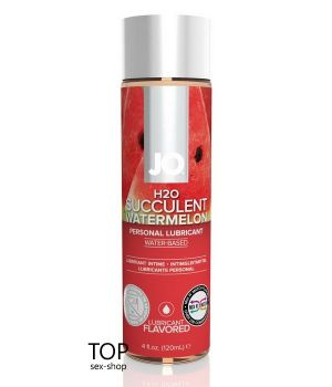 Лубрикант System JO H2O Watermelon, 120ml