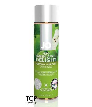Лубрикант System JO H2O Green Apple, 120ml