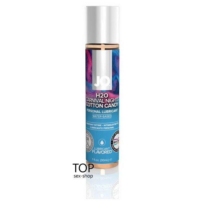 Лубрикант Cotton Candy System JO H2O, 30ml