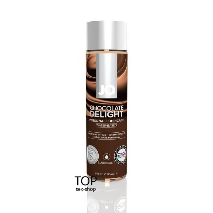 Лубрикант Chocolate Delight System JO H2O, 120ml