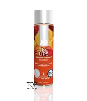 Лубрикант Peachy Lips System JO H2O, 120ml