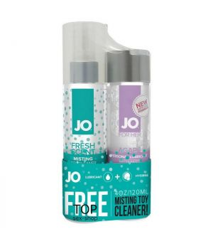 Подарочный набор System JO Limited Edition Agape 120 мл + MistingToy Cleaner 120 мл