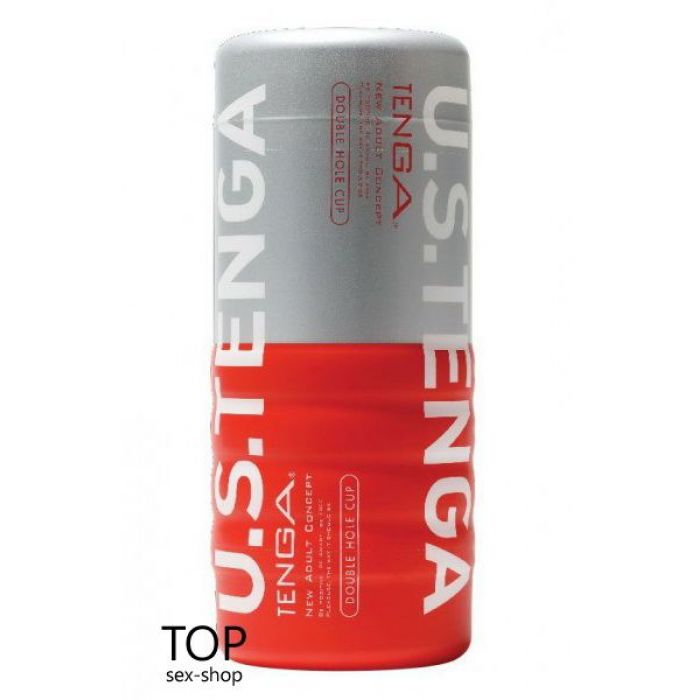 Мастурбатор US Double Hole Cup Tenga