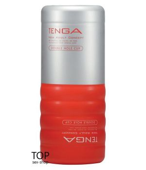 Мастурбатор Double Hole Cup Tenga