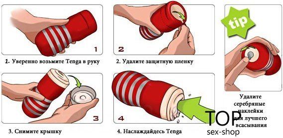 Мастурбатор US Deep Throat Cup Tenga — фото N20