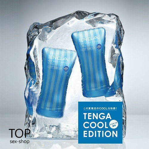 Мастурбатор Soft Tube COOL Edition Tenga — фото N21