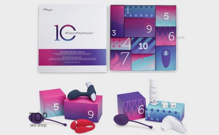 We-Vibe Discover 10 Sex Toy Gift Box — фото N30